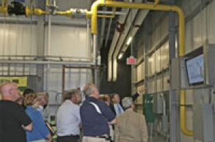 Cogen Power Technologies providing training for operation of a CHP Plant