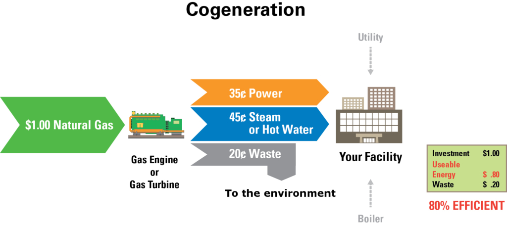 New Cogeneration Process